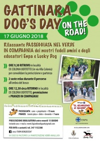 "GATTINARA DOG'S DAY ""ON THE ROAD"""